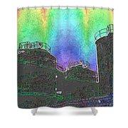 Gasworks Park 4 Shower Curtain