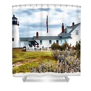 Gate Keeper's House Shower Curtain