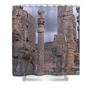 Gate Of Xerxes Shower Curtain
