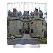 Gate To Chateau De La Bretesche Shower Curtain