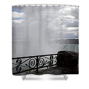 Gate To Fall Shower Curtain
