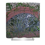 Gate To The Courtyard Shower Curtain