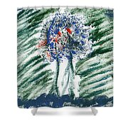 Gated Forest Shower Curtain