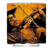 Gatemouth Shower Curtain