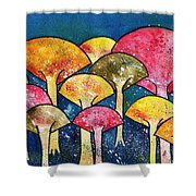 Gathering Of The Colors Shower Curtain