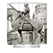 Gattamelata (1370-1443) Shower Curtain
