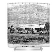 Gauchos, 1858 Shower Curtain