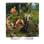 Gaul: Nearing The End Shower Curtain