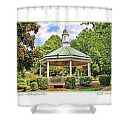 Gazebo In Willoughby Ohio Shower Curtain