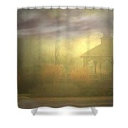 Gazebo Rain Shower Curtain