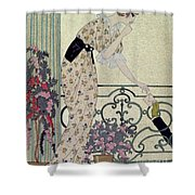 Gazette Du Bon Ton Shower Curtain