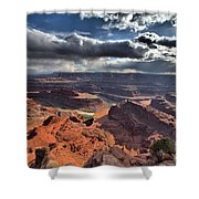 Gazing Into The Sky Shower Curtain