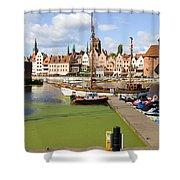 Gdansk Shower Curtain