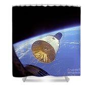 Gemini 6 Views Gemini 7 Shower Curtain