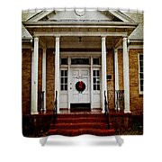 Genealogical Library  Shower Curtain by Toni Hopper