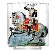 General Andrew Jackson, Hero Of New Shower Curtain by Photo Researchers