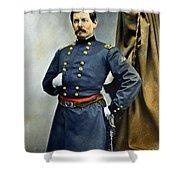 General George Mcclellan Shower Curtain