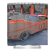 General Lee One Shower Curtain