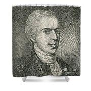 General Samuel B. Webb Shower Curtain