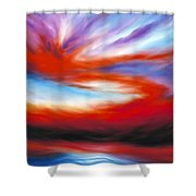 Genesis II Shower Curtain