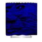 Gentle Giant In Blue Shower Curtain