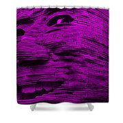Gentle Giant In Purple Shower Curtain