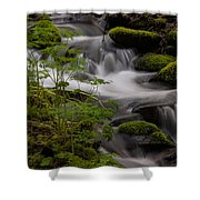 Gently Falling Shower Curtain