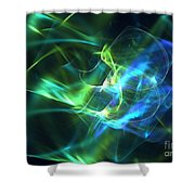 Geoprism Shower Curtain