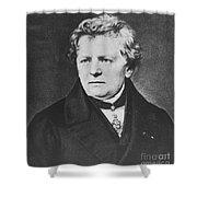 Georg Ohm, German Physicist Shower Curtain