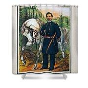 George B. Mcclellan, 1864 Shower Curtain