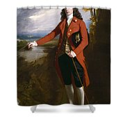 George Boone Roupell Shower Curtain