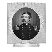George Brinton Mcclellan Shower Curtain