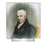 George Crabbe (1754-1832) Shower Curtain