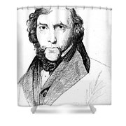 George Cruikshank (1792-1878) Shower Curtain by Granger