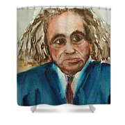 George Faludy  Shower Curtain