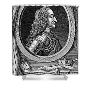 George II (1683-1760) Shower Curtain