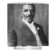 George W. Carver, African-american Shower Curtain