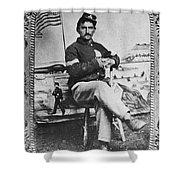 George W. Whitman Shower Curtain