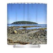 Georgeson Island Shower Curtain