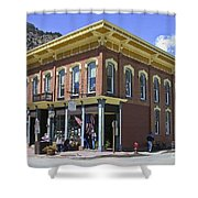 Georgetown Colorado On Canvas Shower Curtain