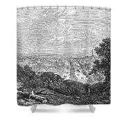 Georgia: Macon, 1863 Shower Curtain