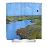Georgia Marsh Shower Curtain