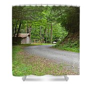 Georgia Mountain Road Shower Curtain