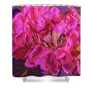Geranium Pop Shower Curtain