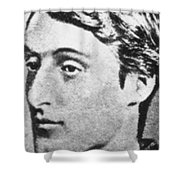Gerard Manley Hopkins Shower Curtain by Science Source
