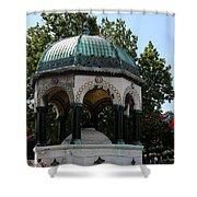 German Fountain - Istanbul Shower Curtain