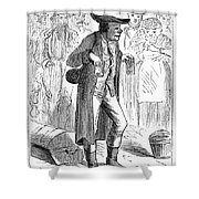 German Immigrant, 1871 Shower Curtain