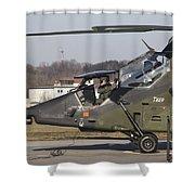 German Tiger Eurocopter At Fritzlar Shower Curtain