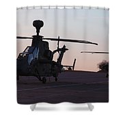 German Tiger Eurocopters At Stendal Shower Curtain