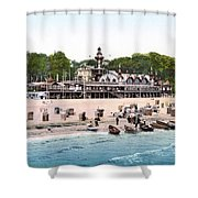 Germany: Casino, C1895 Shower Curtain
